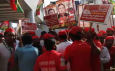 sp workers protest metro
