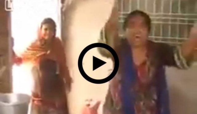 pakistan police attacking christians