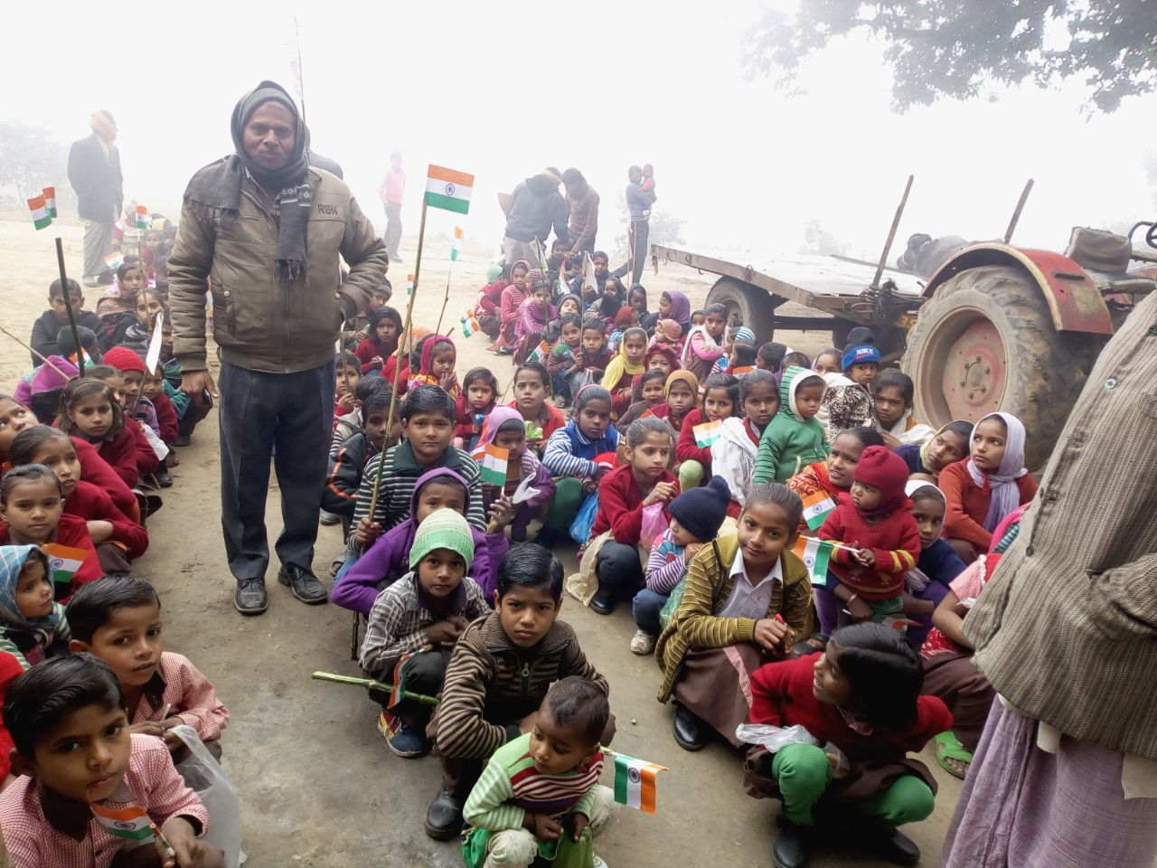 republic day 2018 celebration in villages with tri color (4)