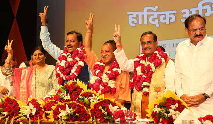 One year of Yogi government make many exemplification