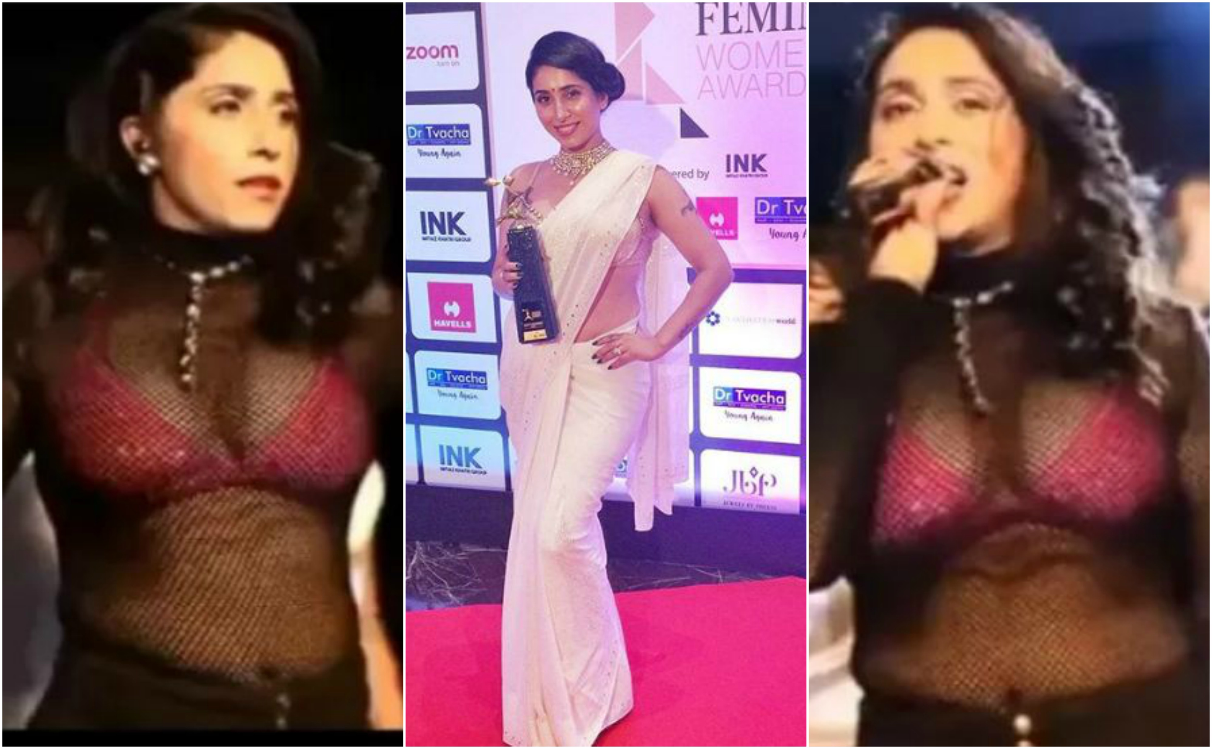 neha bhasin trolled for her bold look stage performance