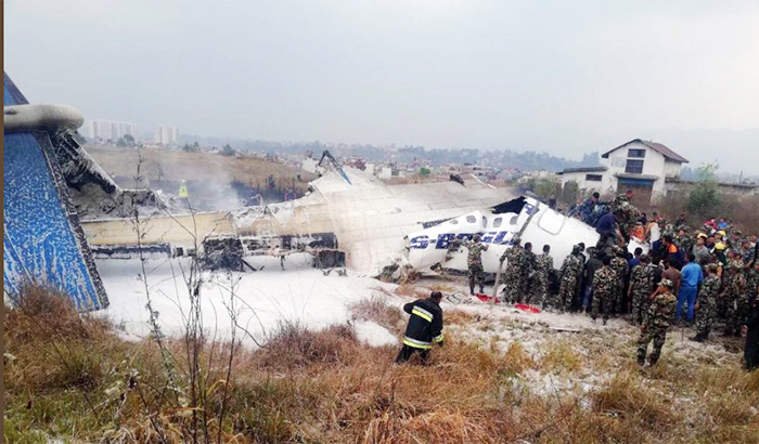 Passenger plane crash in Kathmandu, 50 people expected to be killedPassenger plane crash in Kathmandu, 50 people expected to be killed