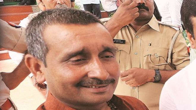 BJP MLA kuldeep singh senger criminal story gang rape murder charged