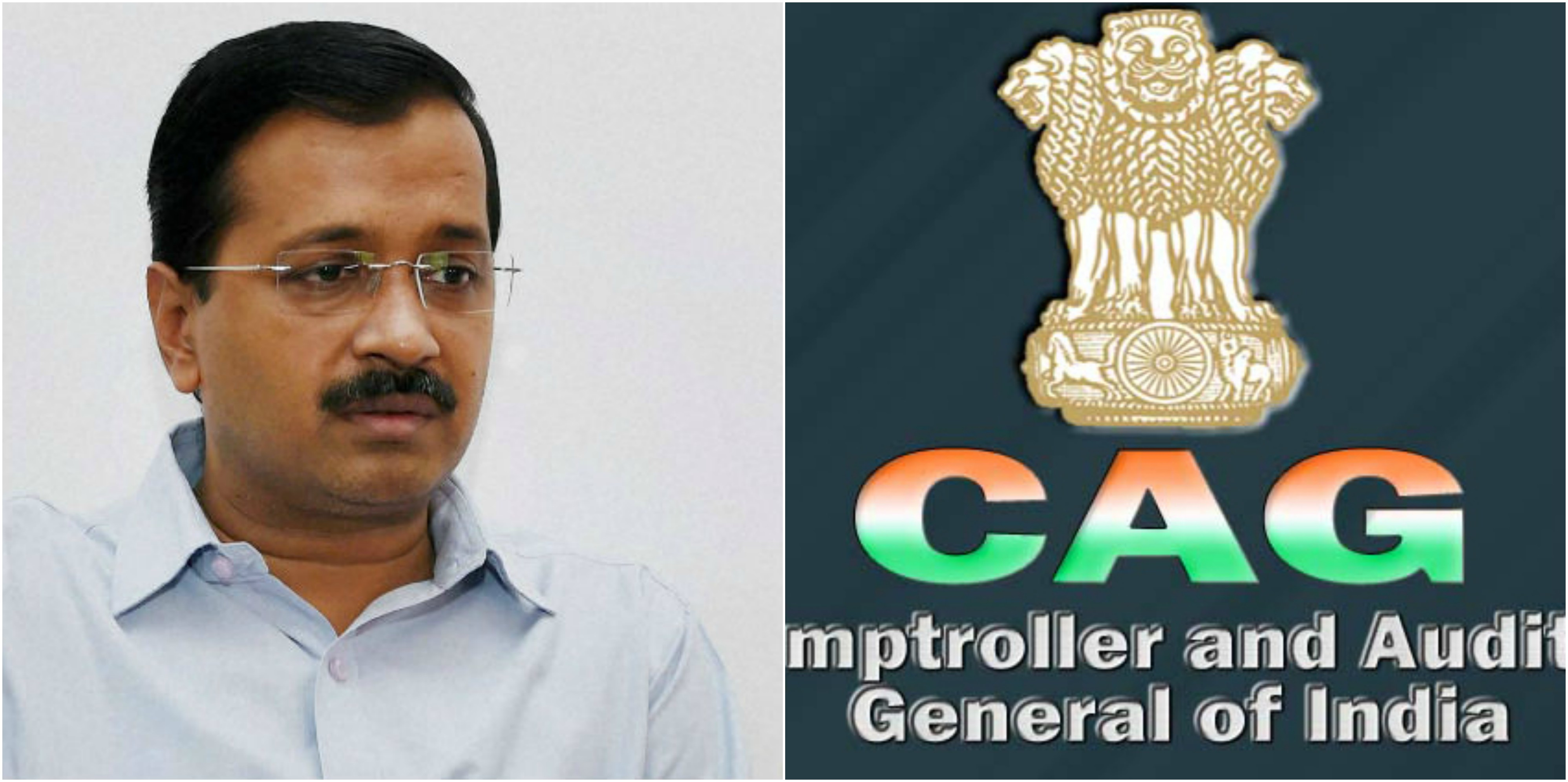 CAG report points out corruption in Delhi exposed AAP govt