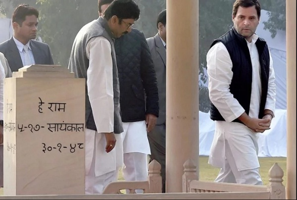 congress nationwide-fast-and-rahul-gandhi-at-rajghat