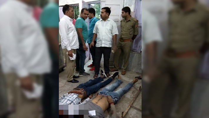meerut encounter: Two rewarded criminals of Rs 25000 killed