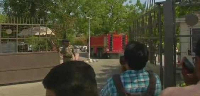 gujrat-fire-break out in-the-building-of-ISRO ahmedabad