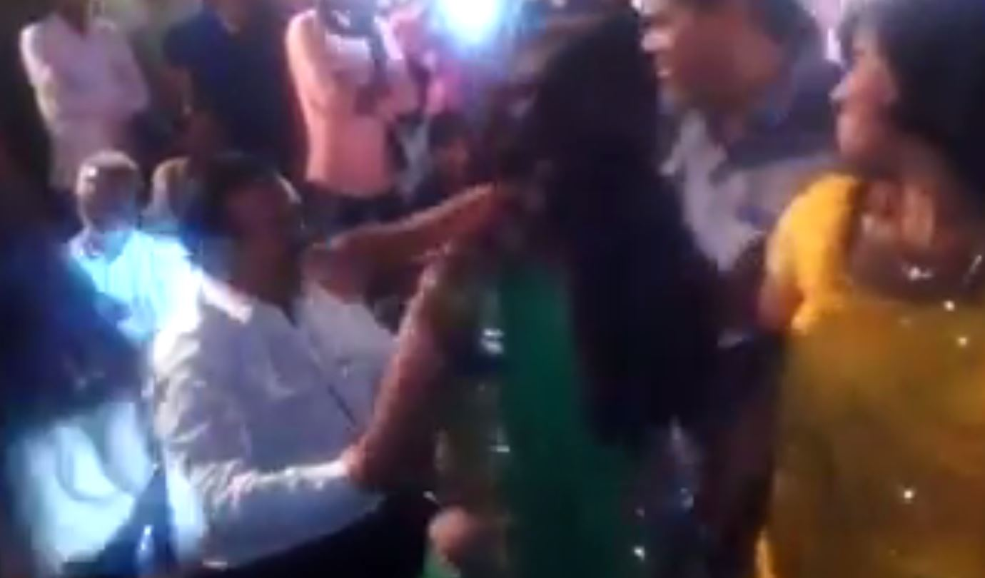 Unnao Officer Caught dancing