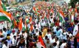 Bed-TET protest today against government tiranga yatra