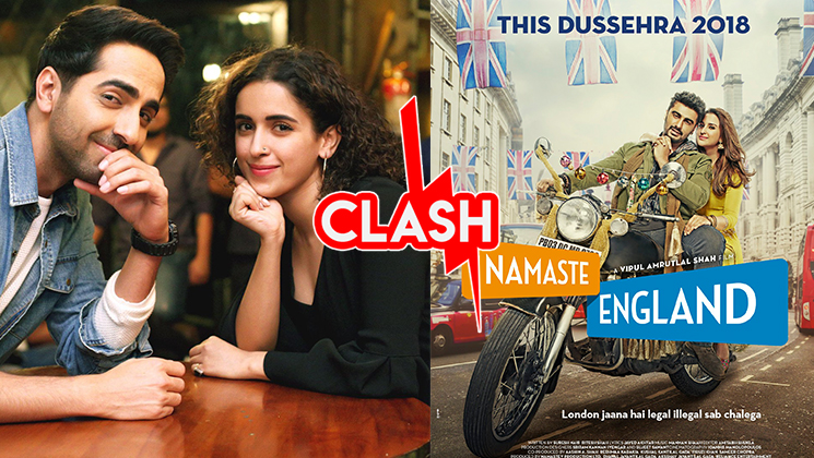 Arjun-Parineeti's 'Namaste England' to clash with Ayushmann's 'Badhaai ho'