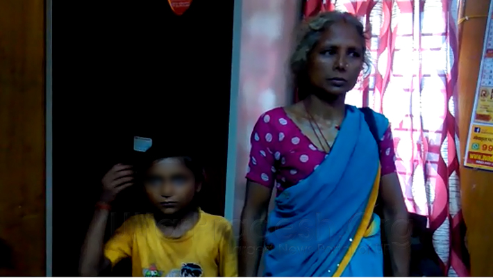 woman attempt to self immolation with minor daughter at CM Office lucknow