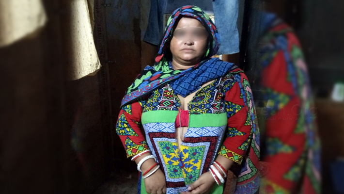 Woman tampered beaten tear off clothes in aminabad Cross FIR lodged
