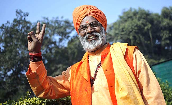 Court can ever make a decision in the Ram temple case: Sakshi Maharaj
