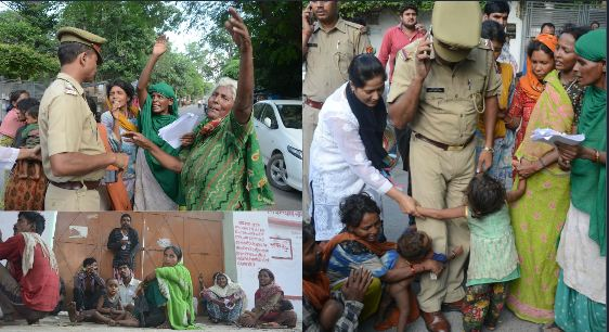 police sent poor childen to shelter home parents protest
