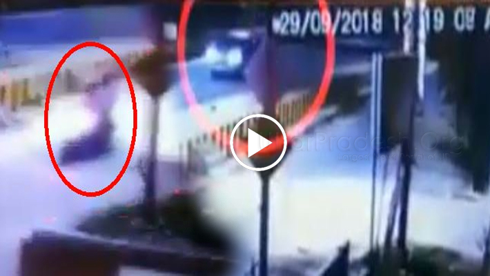 CCTV Footage Video Vivek Tiwari Death Case