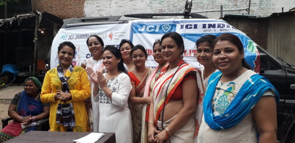 Gender Equality information given to women of slum