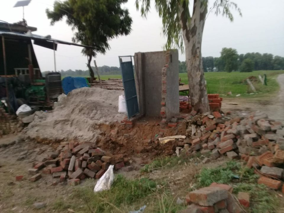 Toilets collapse due to constructed by bad quality product