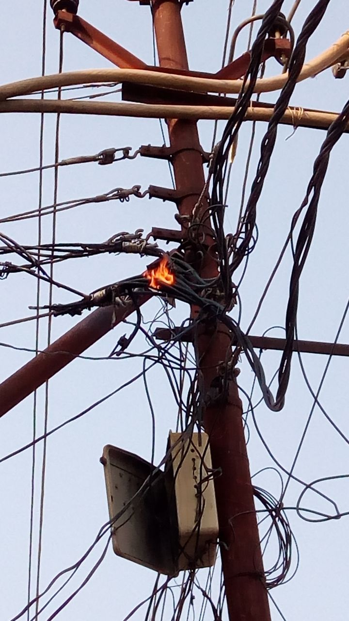 unnao 11000 volt high tension wire spread among high population