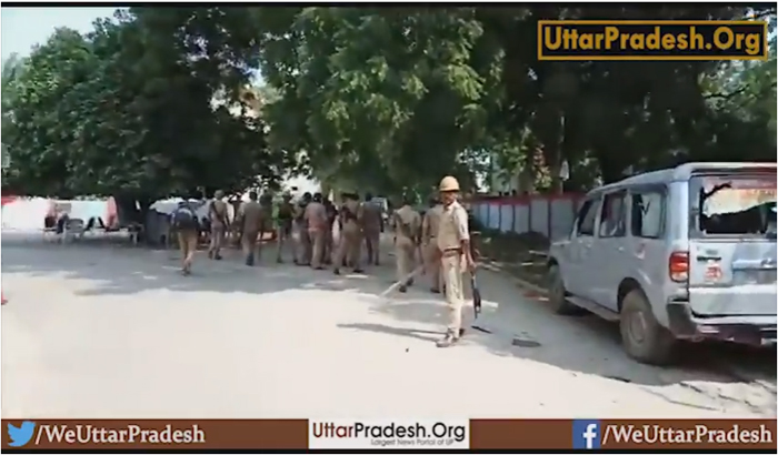 Allahabad: Attack on student leaders protesting against the VC