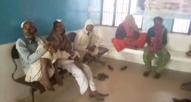15 people injured in land dispute 4 arrested in Mathura