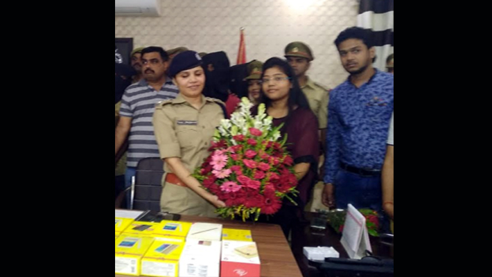 CO Tanu Upadhyay Honored by Traders