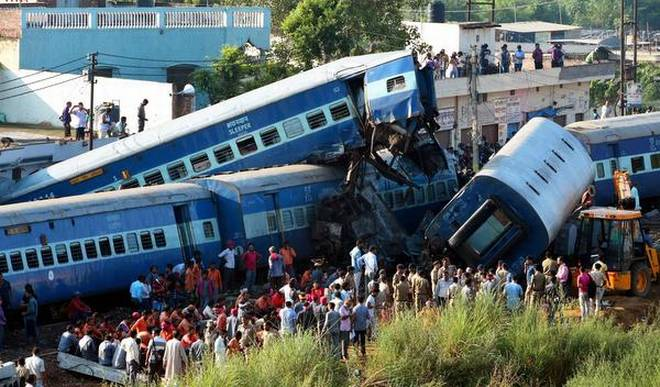 Literature special satire on railway accidents increasing