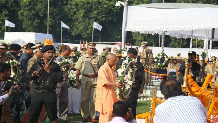 Police Memorial Day 2018: Chief Minister Yogi Adityanath Will Pay Homage to Martyrs Shok Pared