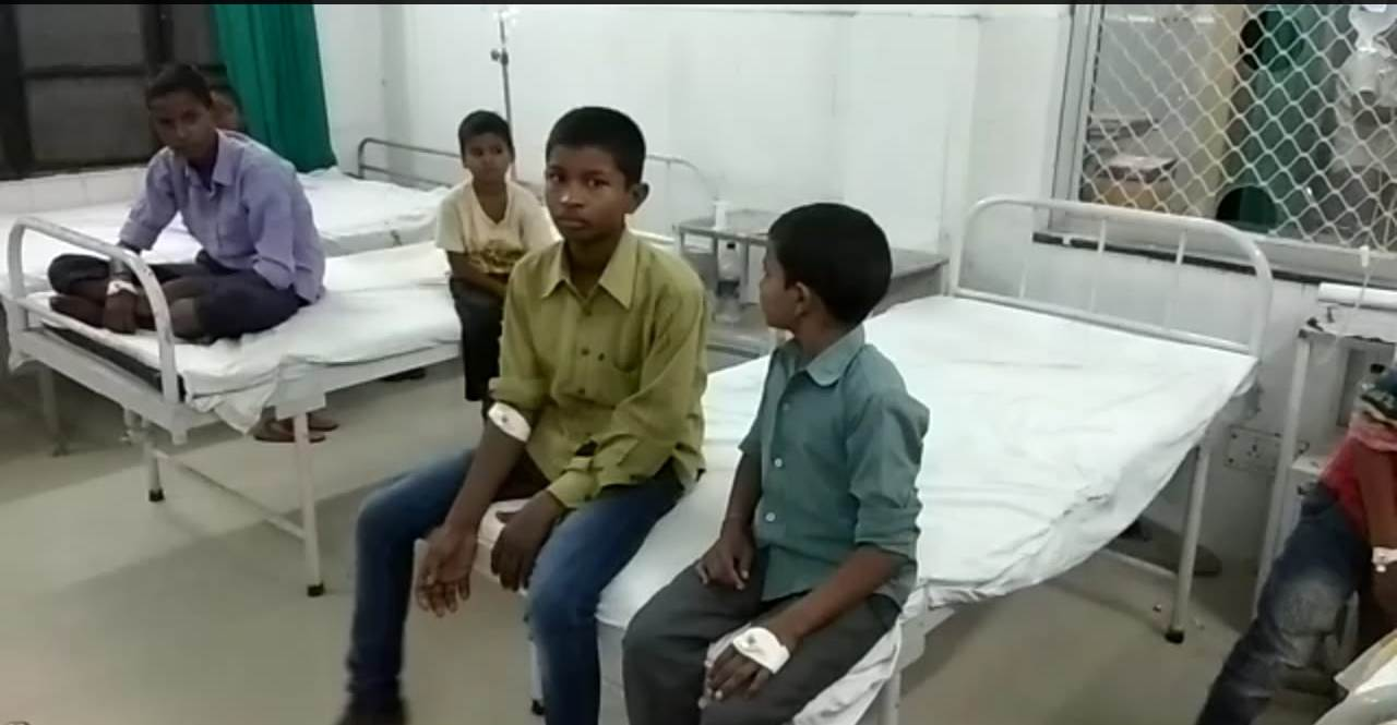 dumb deaf camp dozen of children got sick suddenly