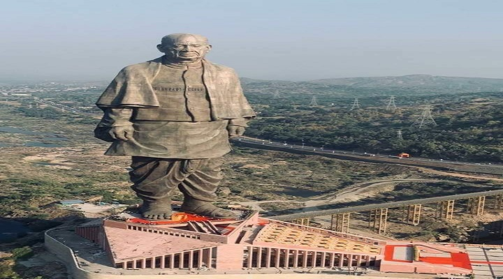 Literature special satire on statue of unity sardar vallabhbhai patel