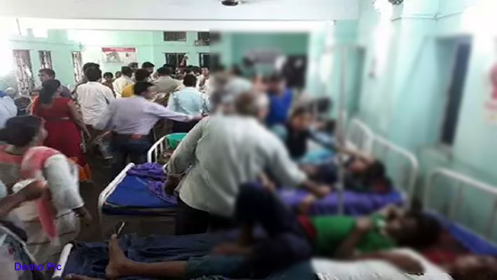 48 Children Fall ill from MR Vaccine in Shahjahanpur Lakhimpur Hardoi