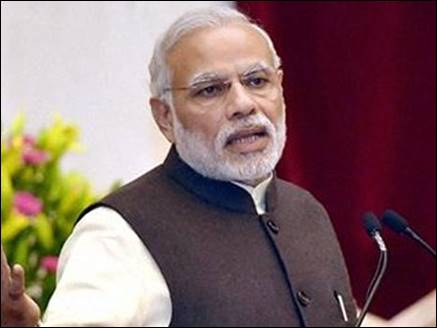 PM Modi launches 'rich' scheme, gives gifts to five lakh pensioners