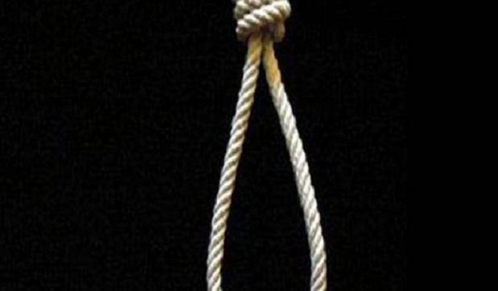 The victim's body found hang on the hanging trap