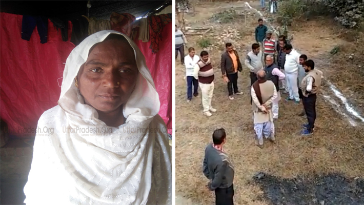 BJP Leader Forcibly Occupied Land of Muslim Woman in Gonda