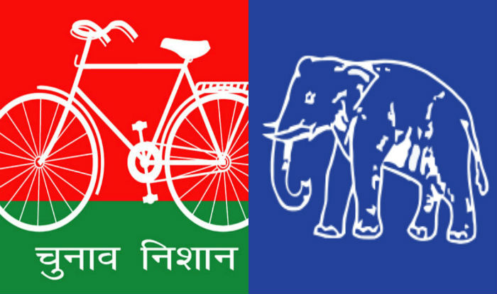 In reserved seats Contest elections BSP on 10 seats and SP in 7 seats