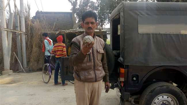 Ruckes Firing Bomb Blasts in Nevada Village Jaunpur