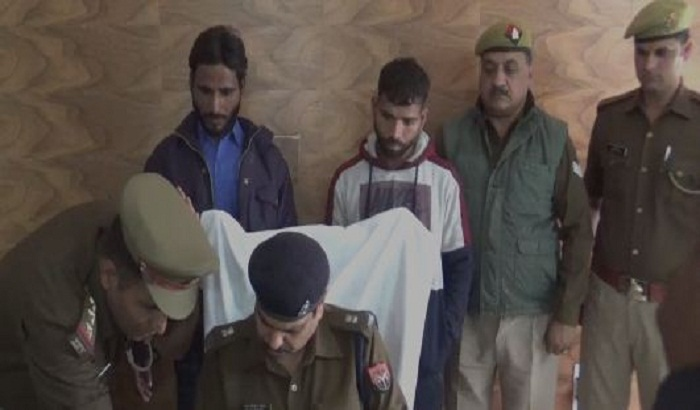Criminals arrested accused executing robbery in Hapur
