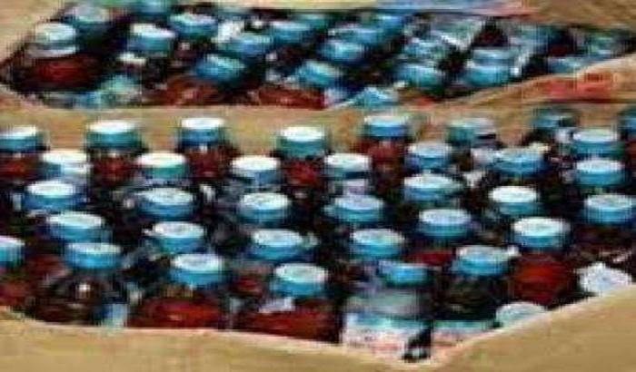 50 liters of raw poisonous liquor recovered in police raid