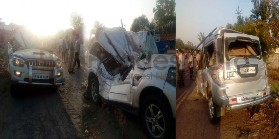 STF Accident in Unnao