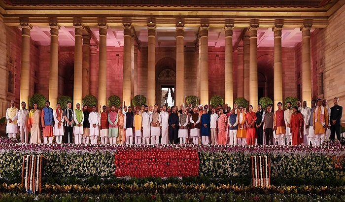 pm narendra modi's new cabinet ministers allot department