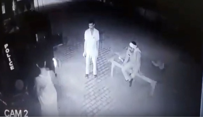 SI and constable assaulted