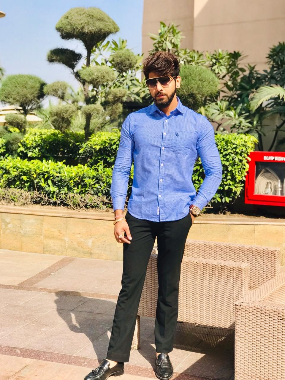 Sahil Choudhary who has the potential of becoming an Actor in Bollywood