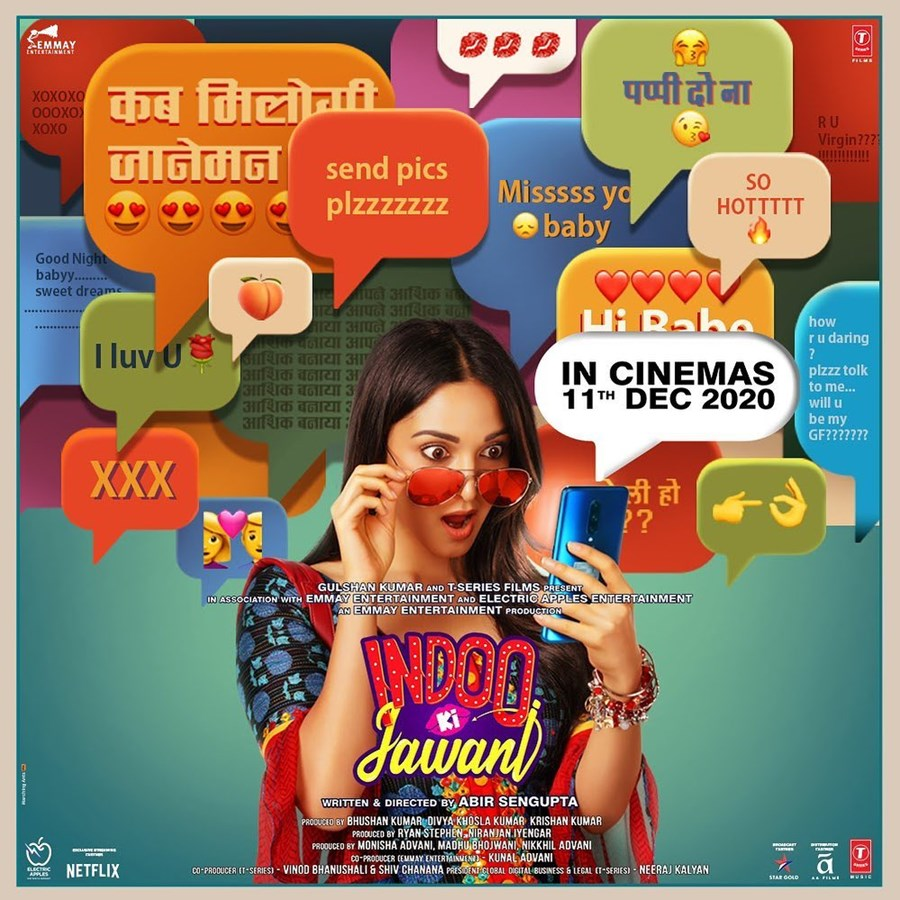 Kiara Advani Drops A New Poster Of Indoo Ki Jawani