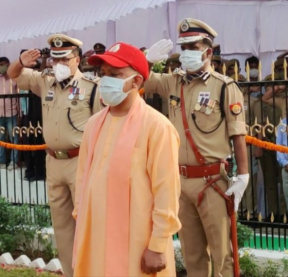 Police Commemoration Day 2021: CM Yogi Pays Tribute To Police